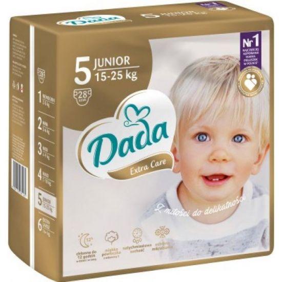Подгузники дада Dada Extra Care Gold 5 Junior (15-25 кг) 28 шт