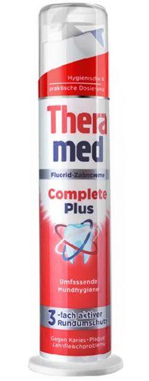 Зубная паста с дозатором терамед Theramed Complete Plus 100 мл