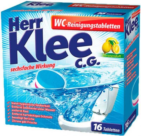 Таблетки для удаления налёта в унитазе Herr Klee C.G. 16 шт