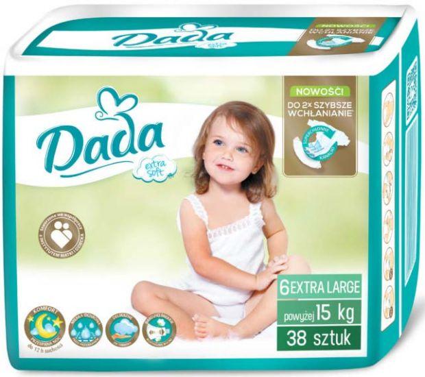 Подгузники дада Dada Extra Soft 6 Extra Large (15+кг) 38 шт