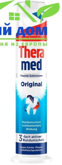 Зубная паста с дозатором терамед Theramed Original 100 мл