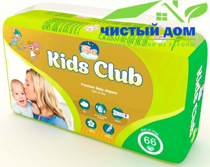 Подгузники Kids Club midi (4-9 кг) 66 шт