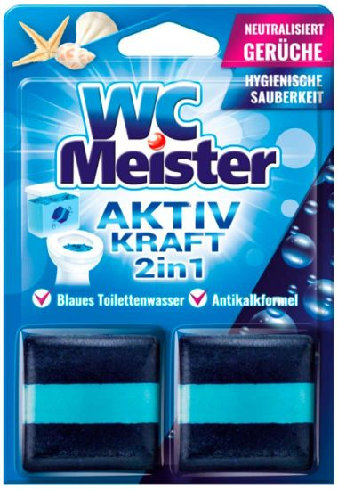 WC Meister кубики для унитаза Океан