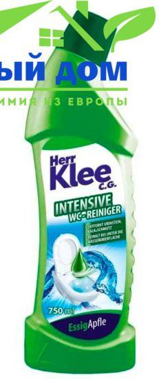 Herr Klee C.G. intensive WC Гель для чистки туалета с ароматом яблока 750 мл