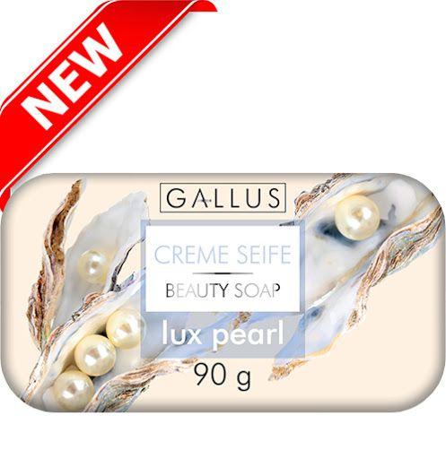 Твердое мыло Gallus Creme Seife Lux pearl Жемчуг 90 г